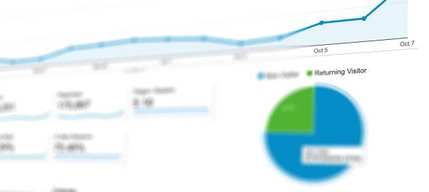 Photo of a data analytics screen. Public domain image from Pixabay.com