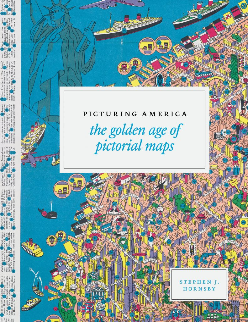 Book Cover for Picturing America: The Golden Age of Pictorial Maps