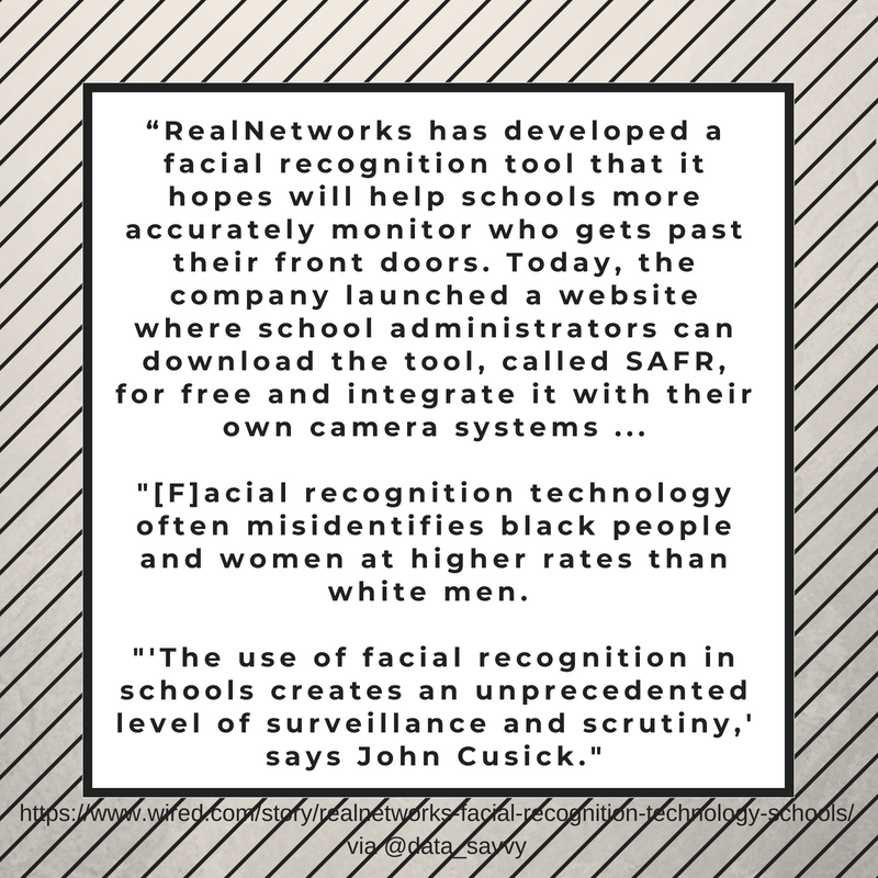 For discussion: Free facial recognition technology available